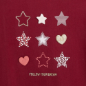 """Okaidi T-shirt manches longues motif """"etoiles"""""""
