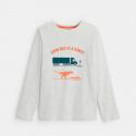 Okaidi T-shirt manches longues motif dinosaure