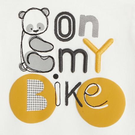 Obaibi T-shirt a capuche panda et velo