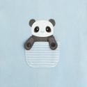 Obaibi Dors-bien velours panda
