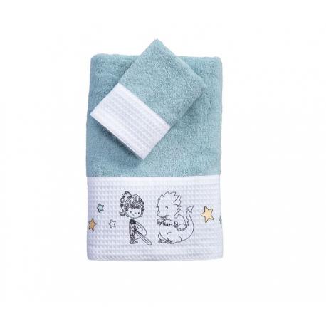 Πετσέτες Nef-Nef Homeware Lanselot σετ των 2