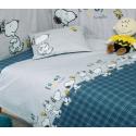 Σετ σεντόνια Nef-Nef Homeware Snoopy Enjoy 120 x 170 cm
