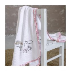 Κουβέρτα πικέ Nima Bebe Toco Toucan 100 x 140 cm