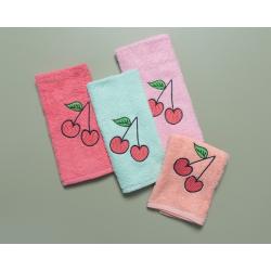 Πετσέτες Palamaiki Cherries σετ των 4