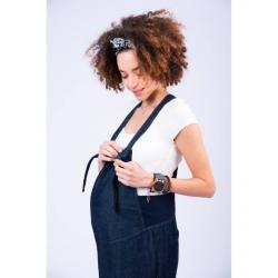 Σαλοπέτα εγκυμοσύνης τζιν Omor
