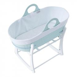 Καλάθι μεταφοράς μωρού με λικνιζόμενη βάση Tommee tippee Sleepee Green