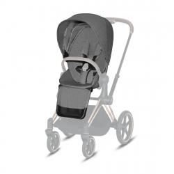 Σετ υφάσματα καροτσιού Cybex Platinum Priam Seat Pack Manhattan Grey