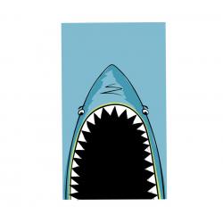 Πετσέτα θαλάσσης Nef-Nef Homeware Shark Jaws 70 x 120 cm