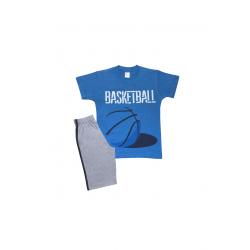 Σετ παιδική μπλούζα και βερμούδα Pretties Basketball
