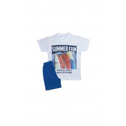 Σετ παιδική μπλούζα και βερμούδα Pretties Surfing