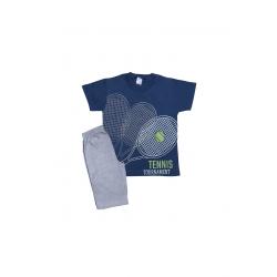 Σετ παιδική μπλούζα και βερμούδα Pretties Tennis Tournament