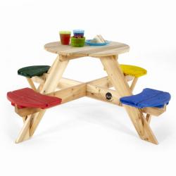Τραπέζι εξωτερικού χώρου Plum® Children's Picnic Table Multicolor