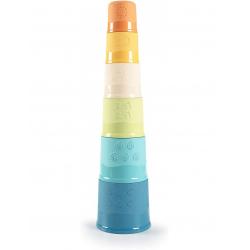 Πύργος στοίβαξης Smoby Green Magic Tower από οικολογικό πλαστικό