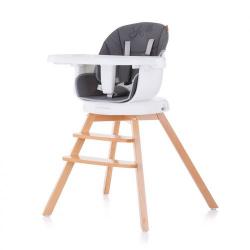 ChipoLiNo περιστρεφόμενη καρέκλα φαγητού 3 σε 1 Rotto Asphalt