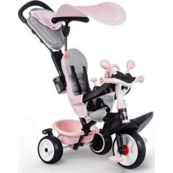 Τρίκυκλο ποδήλατο 3 σε 1 Smoby Baby Driver Plus Pink