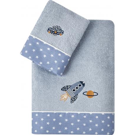 Πετσέτες KENTIA Sam σετ των 2