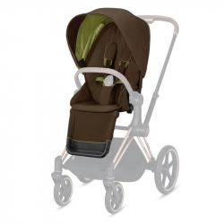 Σετ υφάσματα καροτσιού Cybex Platinum Priam Seat Pack Khaki Green
