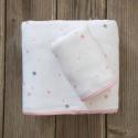 Πετσέτες Nima Bebe Nene Pink σετ των 2