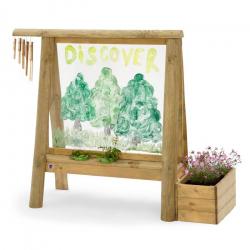 Πίνακας δραστηριοτήτων εξωτερικού χώρου Plum® Discovery Create & Paint Easel