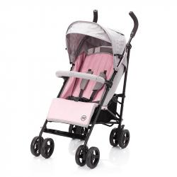 Καρότσι Fillikid Explorer Pink - Light Grey Melange