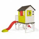 Παιδική χαρά με σπιτάκι - τσουλήθρα και σκάλα αναρρίχησης Smoby Pilings House