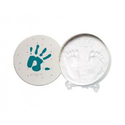 Στρογγυλό κουτί για αποτύπωμα μωρού Baby Art Magic Box Round Essentials