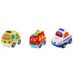 Οχήματα 3 σε 1 άμεσης βοήθειας Vtech® Baby Toot-Toot Αυτοκίνητα™, σετ των 3