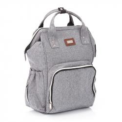 Τσάντα - αλλαξιέρα πλάτης Fillikid Grey Melange
