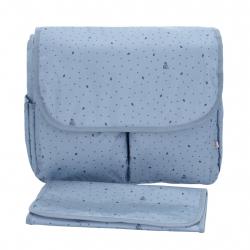 My Bags τσάντα θηλασμού με θήκη - αλλαξιέρα Leaf Petrol
