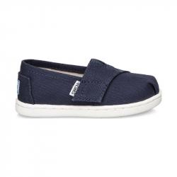 Παπούτσια TOMS Tiny Seasonal Classic Alpargata Navy Canvas
