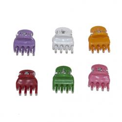 Ψείρες χρωματιστές G&P Accessories σετ των 6