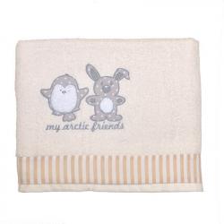 Πετσέτα μπάνιου Baby Star Arctic Friends