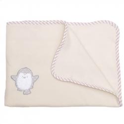 Κουβέρτα fleece Baby Star Arctic Friends 75 x 100 cm