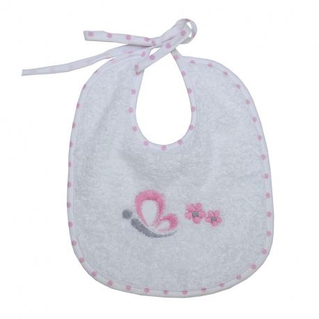 Σαλιάρα πετσέτε Baby Star Sweet Dots 21 x 19 cm