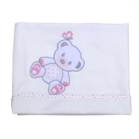 Πάνα πικέ Baby Star Sweet Dots 90 x 90 cm
