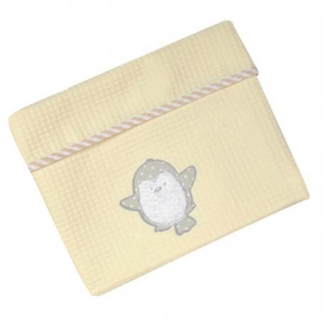 Κουβέρτα πικέ Baby Star Arctic Friends 75 x 100 cm