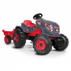 Τρακτέρ με καρότσα Smoby Stronger XXL Tractor & Remorque