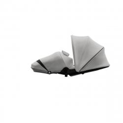 Υφασμάτινο port-bebe - ποδόσακος καροτσιού Joolz Hub Cocoon Stunning Silver
