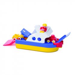 Καράβι jumbo με 2 mini οχήματα Viking και 2 φιγούρες