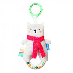 Κουδουνίστρα Taf toys Paul the Bear