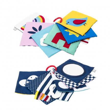 Υφασμάτινες κάρτες διπλής όψης Oxybul SENSibul