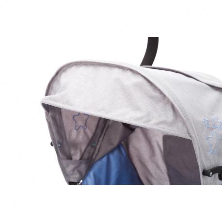 Καρότσι Fillikid Explorer Blue - Light Grey Melange