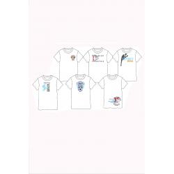 Φανελάκι Pretties® διάφορα σχέδια (1 τεμάχιο)