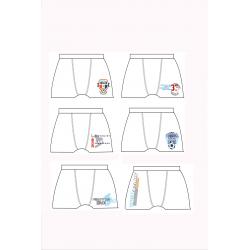 Μποξεράκι Pretties® διάφορα σχέδια (1 τεμάχιο)