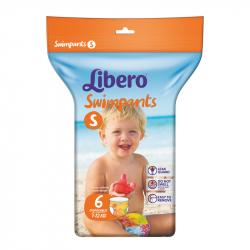 Πάνες - μαγιό μιας χρήσης Libero® Swimpants Small 7-12 kg 6 τεμάχια