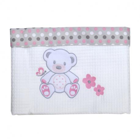 Κουβέρτα πικέ Baby Star Sweet Dots 100 x 150 cm