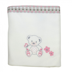 Κουβέρτα fleece Baby Star Sweet Dots 100 x 150cm
