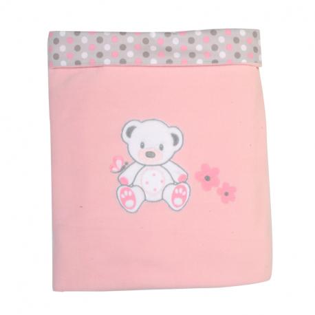Κουβέρτα fleece Baby Star Sweet Dots 100 x 150 cm