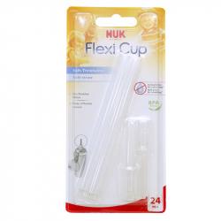 NUK® ανταλλακτικά καλαμάκια για παγουράκι Flexi Cup σετ των 2