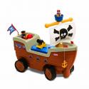 Ποδοκίνητο πειρατικό καράβι Little tikes® με ήχους